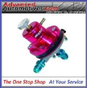 FSE Sytec MSV 1:1 Adjustable Motorsport Fuel Regulator (Jic6-Jic6) Anodised Red